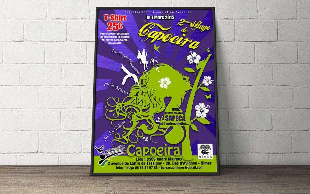 Charte Graphique événement féminin de Capoeira