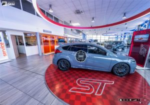 Visite virtuelle à 360° de la concession automobile Ford - Valence