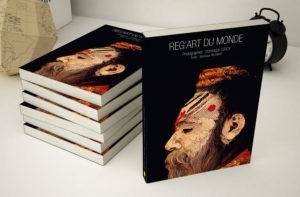 Mise en page du livre du photographe Dominique Leroy