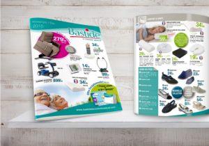 Mise en page de catalogue produits Hérault Gard