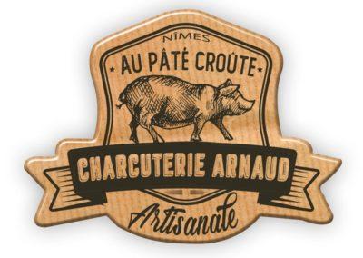 Logo Charcuterie Arnaud