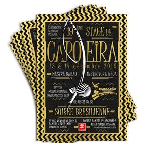 Flyer soirée Capoeira